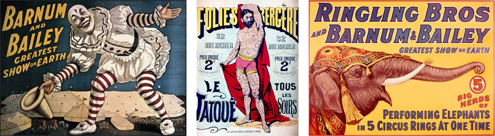 20th century circus posters